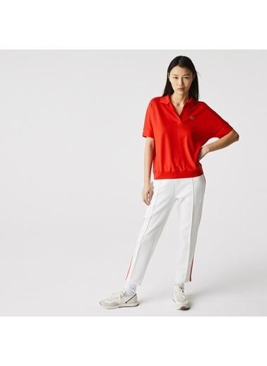 Lacoste Kadın Loose Fit Tişört PF0504.F8M Kırmızı